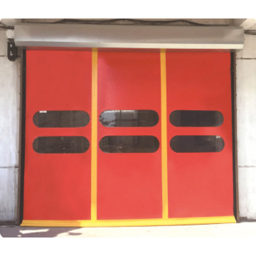 High Quality Fast Roiling Up Stacking  Door
