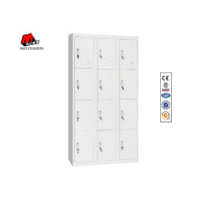 White 12 Doors Metal Lockers
