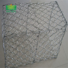 double twist heavy galvanized woven gabion basket gabion baskets for sale