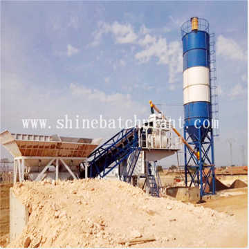 40 Ready Mobile Concrete Mixer Plant