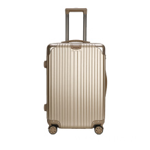 Ultra - quiet gold PC+ABS luggage case