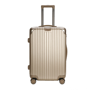 OEM/ODM for  Ultra - quiet gold PC+ABS luggage case export to Belarus Exporter