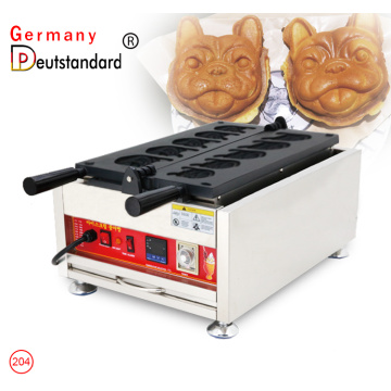 Digita thermostat control dog head waffle machine