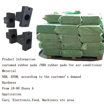 Air Conditioner Rubber Mount Rubber Pads
