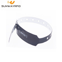 waterproof disposable pvc rfid wristband price
