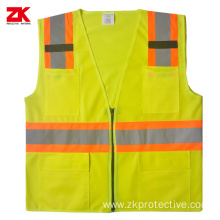 Good quality EN471 luminous fluorescent vest