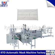 High Speed Automatic Medical Flat Face Mask Machine