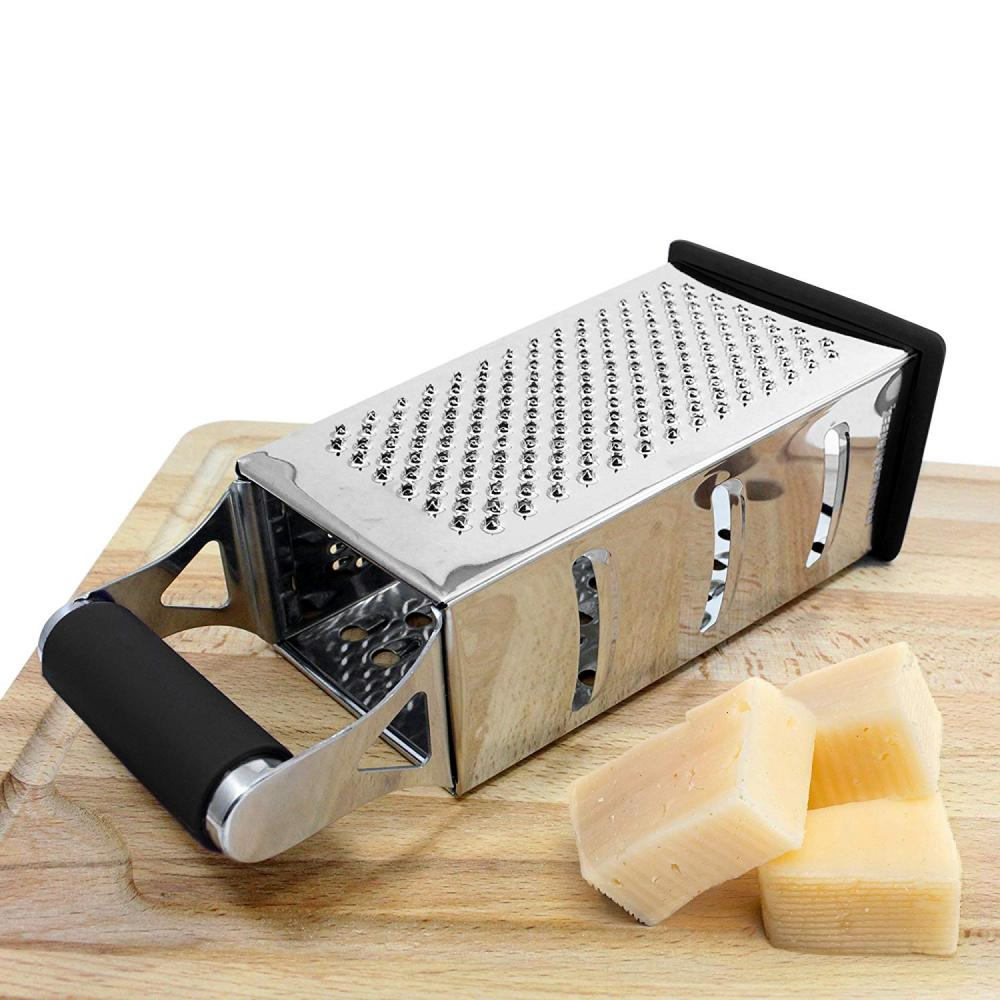 Stainless Steel 4 Sides Cheese Vegetables Grater