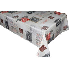 Pvc Printed fitted table covers Trivet