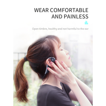 Comfortable call center headset bone conduction hearing