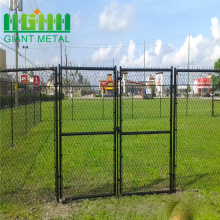 New Design Custom security Black Chain Link Fence