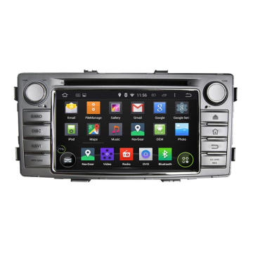 6.2inch Android System Car DVD Player per Hilux