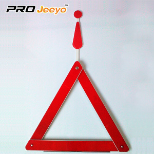 Reflective Warning Triangle Caution Board