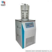 Goods high definition for Laboratory Manifold Lyophilizer Freeze Dryer Mini meat & fruit vacuum freeze drying machine export to Costa Rica Factory