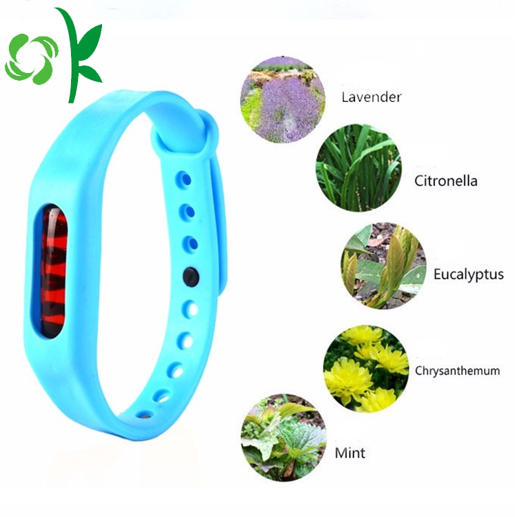Eco Friendly Silicone Mosquito Bands