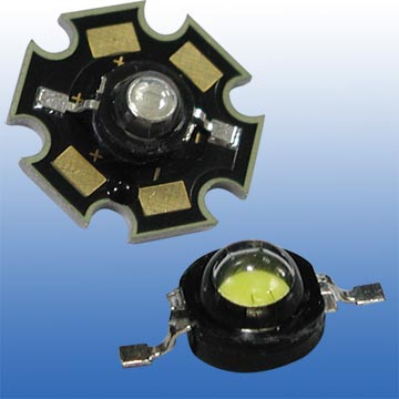3W Yellow Color High Power LED Light
