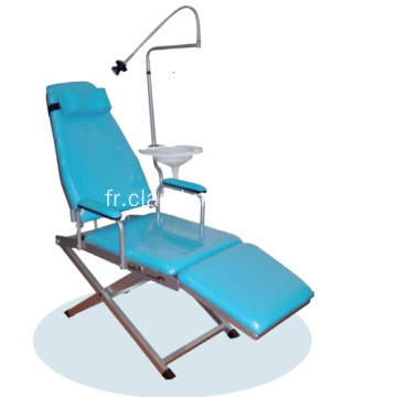 Chaise dentaire mobile portative standard de bon prix