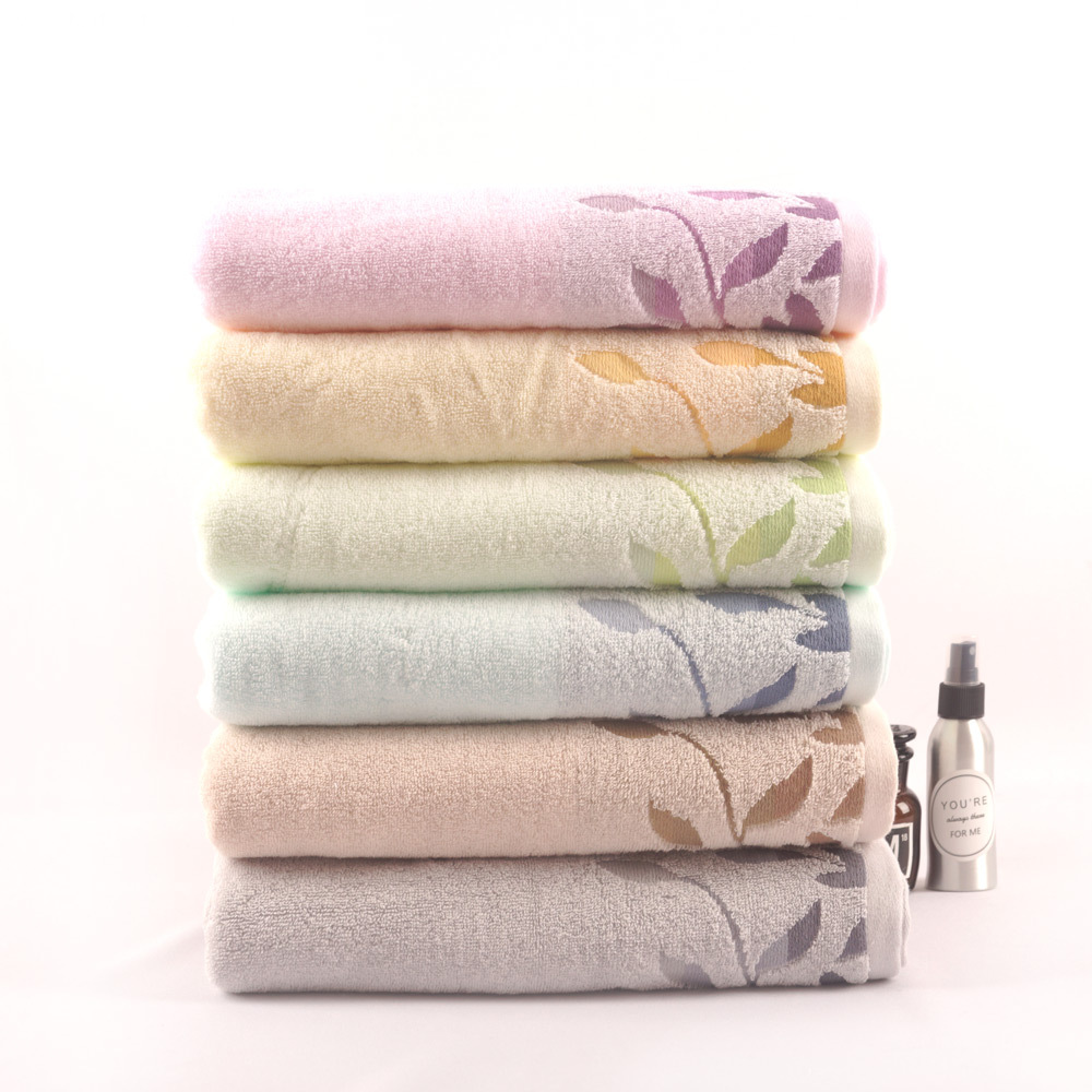 bright ribbon leaf towel set
