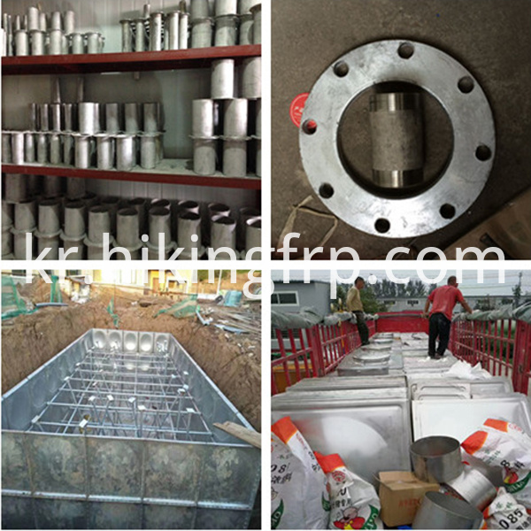 Stainless Steel Water Storage Panel Tank