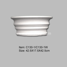 Fast Delivery for half Columns 30cm Diameter PU Roman Fluted Column supply to United States Importers