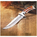 Outdoor Survival Knife with Synthetic Resin Handle