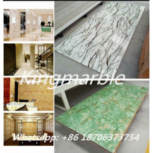 Factory directly for Perforated Pvc Wall Marble Panels pvc artificial marble panel export to Northern Mariana Islands Supplier