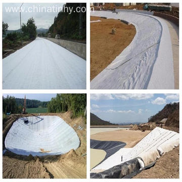 PP Non Woven needle punched  Geotextile CE