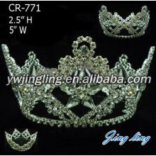Wholesale Custom Full Round Pageant Crown