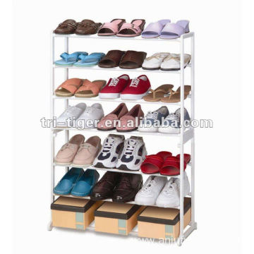 Easy to assemble shoe display