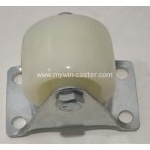 4 Inch Plate Rigid PP fat caster