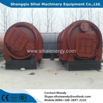 10 tons waste plastic recycling machine