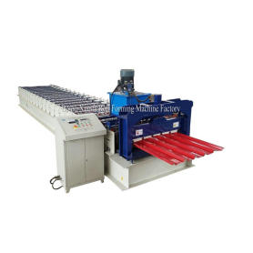 Ibr Aluminum Steel Roof Roll Forming Machine
