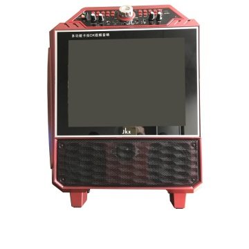 Portable stage speakers with big screen