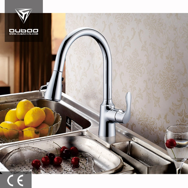 Single Lever Pull Out Mixer Tap Kitchen Faucet