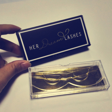 custom Eyelash Packaging box with CMYK logo
