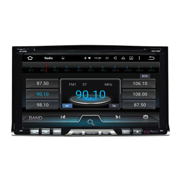 Two din Universal car multimedia player with GPS