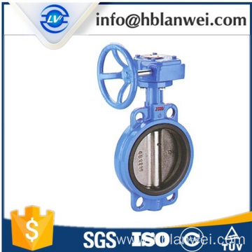 Cheapest Price for Wafer Center Butterfly Valve D371X-16 wafer style butterfly valve DN40 supply to Thailand Factories