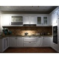 solid wood kitchen cabinet set design