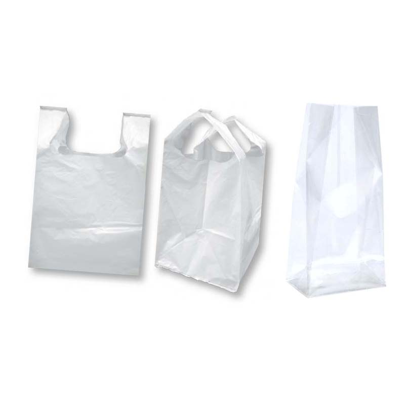 The garbage bag with PE flat design