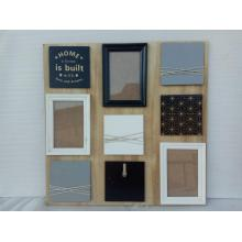 Hot Selling for Bowknot Decoration Wood Photo Frame Multiple Group Wooden Photo Frame export to Hungary Manufacturers