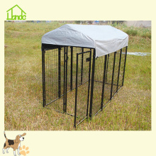 China Manufacturers for Welded Wire Dog Kennel Great Durable Square Tube Outdoor Pet Dog Kennel supply to Qatar Manufacturer