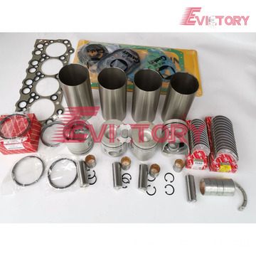 excavator 4G64 engine gasket bearing piston ring liner