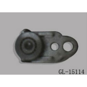 Zinc Plated Pulley Roller for Curtain Truck
