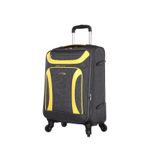 cool black and yellow travel luggage fashion style