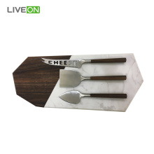 Marble Cheese Board Knife Set
