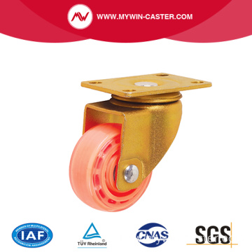 Plate Swivel With Nylon Wheel Caster