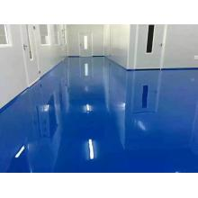 High-strength epoxy flat varnish