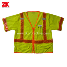High visibility summer warning reflective cloth