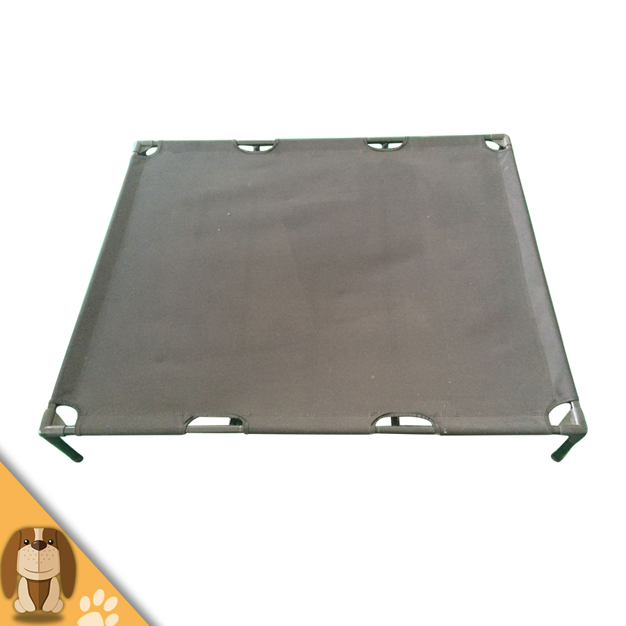 Easy-to-clean Metal Oxford Fabric Dog Bed