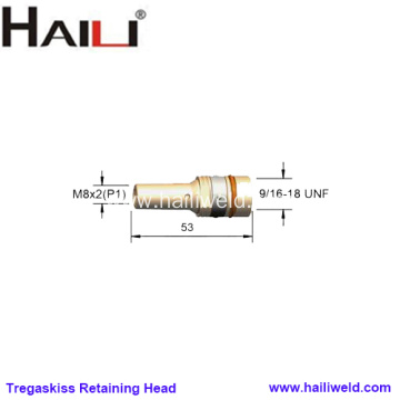 Tregaskiss Retaining Head 404-3 for T40 T50